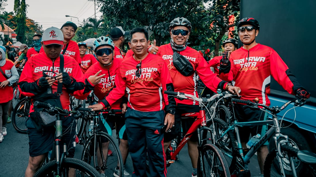 GNT Cycling Club Goes to Blitar